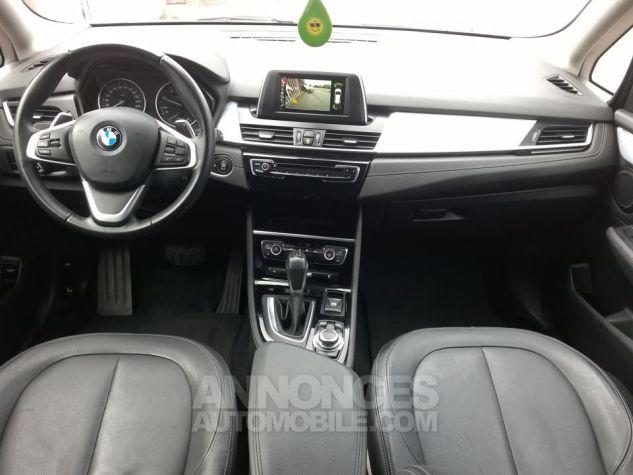 BMW Série 2 GRAN TOURER 220D 190 CH Luxury A Gris Occasion - 3