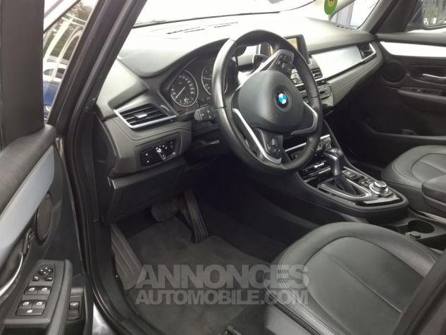 BMW Série 2 GRAN TOURER 220D 190 CH Luxury A Gris Occasion - 4