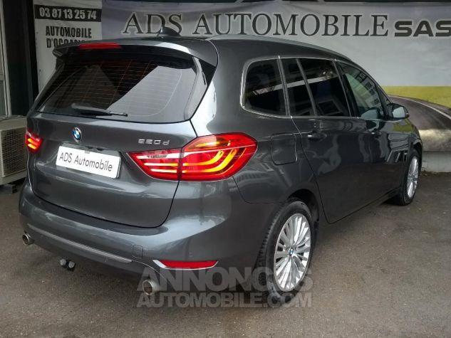 BMW Série 2 GRAN TOURER 220D 190 CH Luxury A Gris Occasion - 5