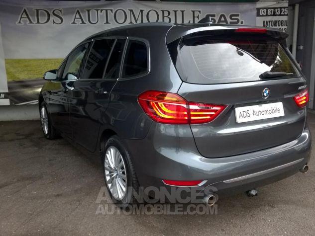 BMW Série 2 GRAN TOURER 220D 190 CH Luxury A Gris Occasion - 6
