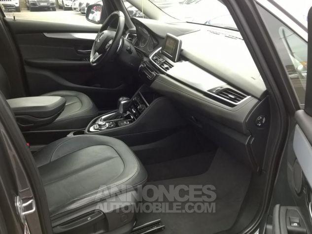 BMW Série 2 GRAN TOURER 220D 190 CH Luxury A Gris Occasion - 12