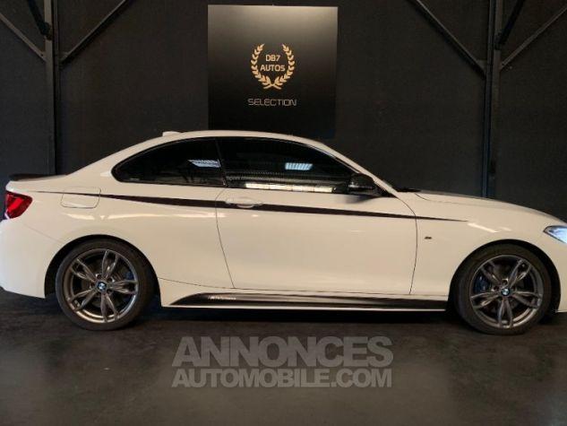 BMW Série 2 M235i XD 326 M PERFORMANCE BLANC Occasion - 14