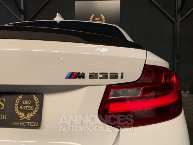 BMW Série 2 M235i XD 326 M PERFORMANCE BLANC Occasion - 18