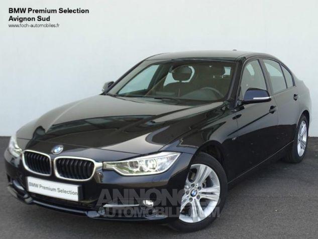 BMW Série 3 316d 116ch Sport Saphirschwarz metallisee Occasion - 0