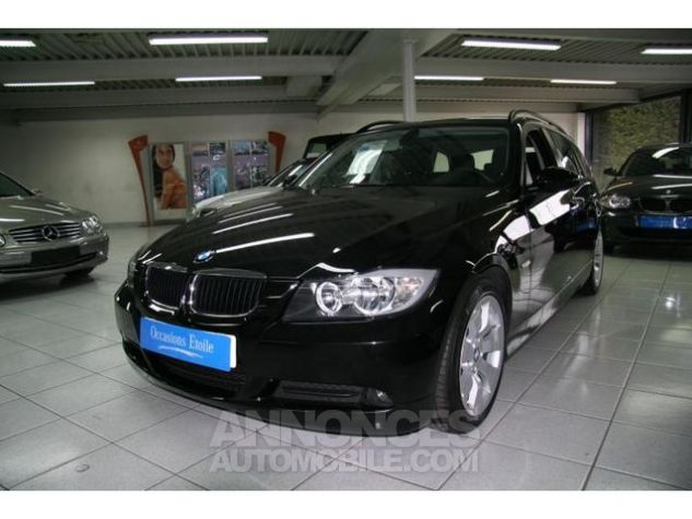 BMW Série 3 318D 143 TOURING CONFORT Noir  Occasion - 0