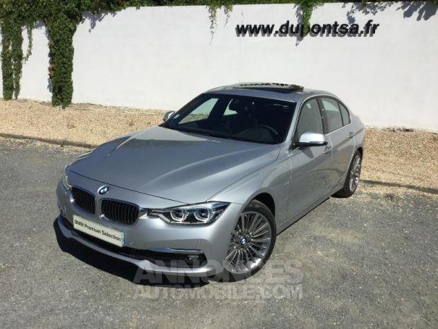 BMW Série 3 318dA 150ch Luxury Glaciersilber métallisée Occasion - 0