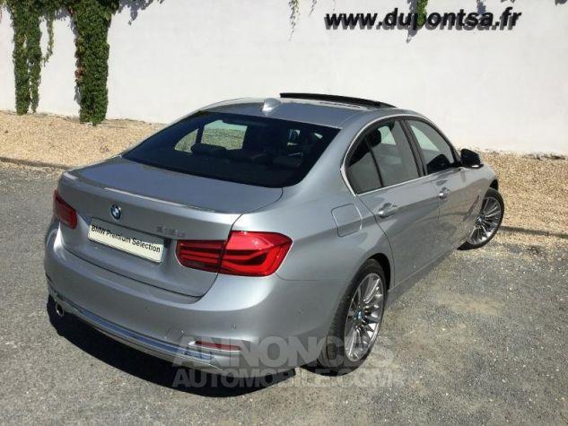 BMW Série 3 318dA 150ch Luxury Glaciersilber métallisée Occasion - 1