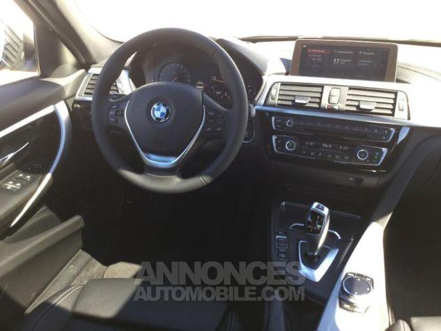 BMW Série 3 318dA 150ch Luxury Glaciersilber métallisée Occasion - 4