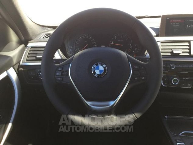 BMW Série 3 318dA 150ch Luxury Glaciersilber métallisée Occasion - 5