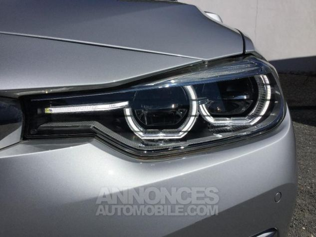 BMW Série 3 318dA 150ch Luxury Glaciersilber métallisée Occasion - 10