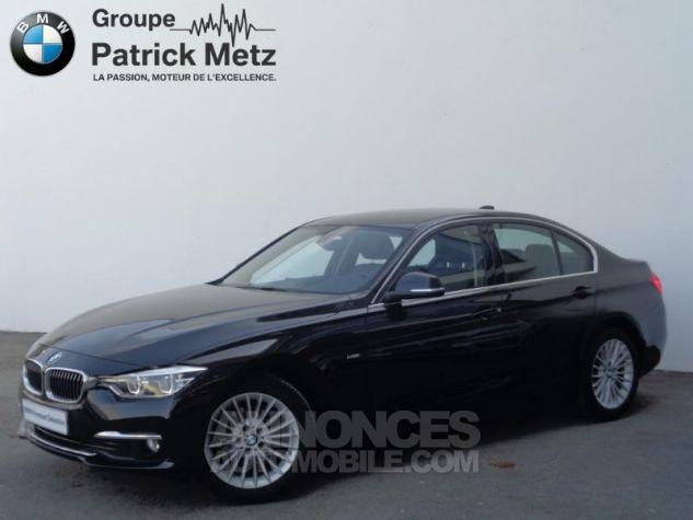 BMW Série 3 318dA 150ch Luxury Saphirschwarz metallise Occasion - 0