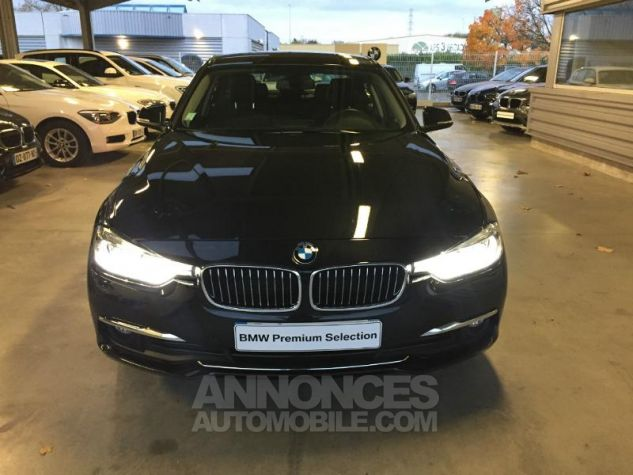 BMW Série 3 318dA 150ch Luxury Saphirschwarz metallise Occasion - 3