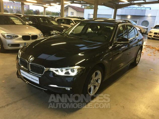BMW Série 3 318dA 150ch Luxury Saphirschwarz metallise Occasion - 4
