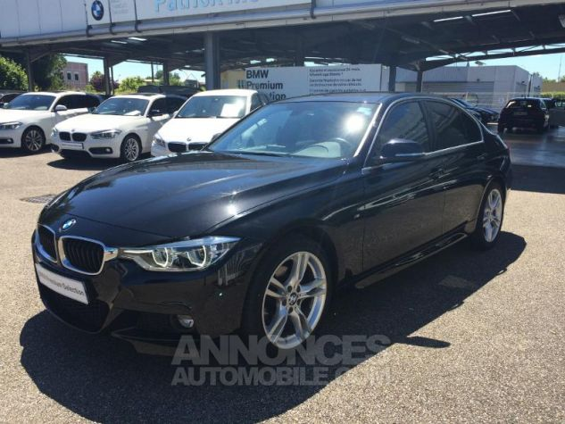 BMW Série 3 318dA 150ch M Sport SAPHIR SCHWARTZ Occasion - 0
