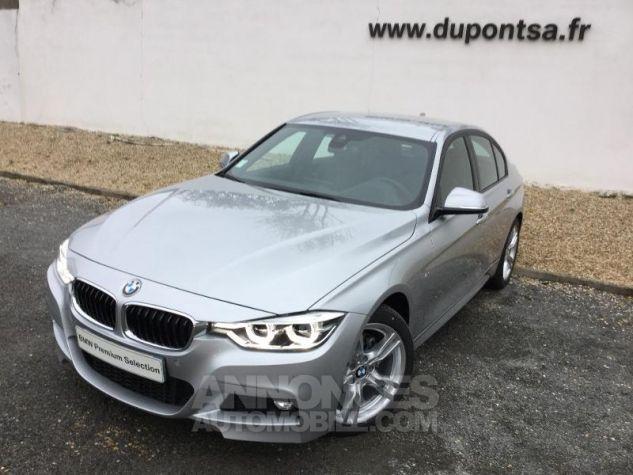 BMW Série 3 318dA 150ch M Sport Glaciersilber métallisée Occasion - 0