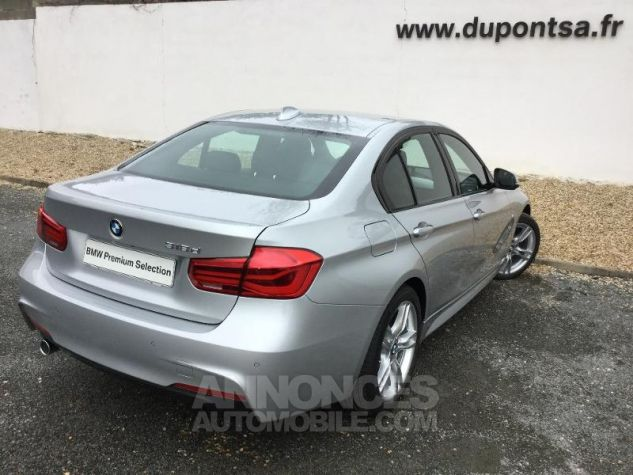 BMW Série 3 318dA 150ch M Sport Glaciersilber métallisée Occasion - 1