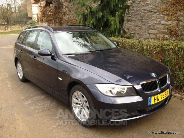 BMW Série 3 320 D Business Touring GPS Bleu nuit Occasion - 0