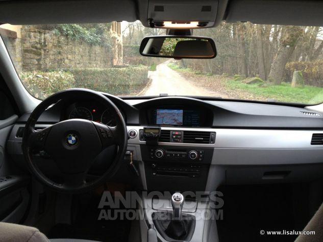 BMW Série 3 320 D Business Touring GPS Bleu nuit Occasion - 7