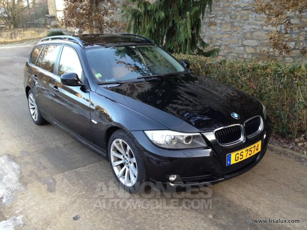 BMW Série 3 320 D Luxe Touring Cuir brun Occasion - 0