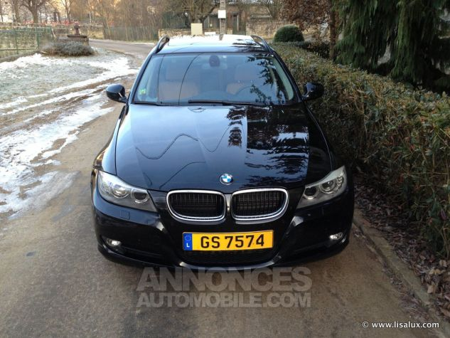 BMW Série 3 320 D Luxe Touring Cuir brun Occasion - 1