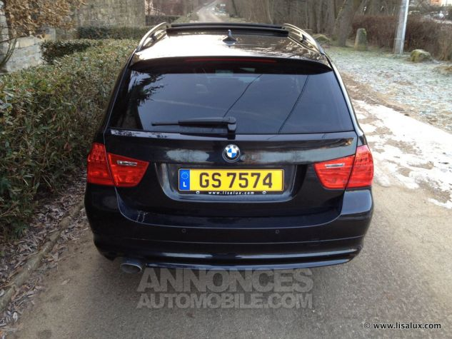 BMW Série 3 320 D Luxe Touring Cuir brun Occasion - 2