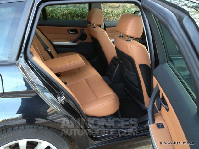 BMW Série 3 320 D Luxe Touring Cuir brun Occasion - 3