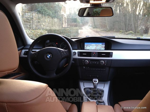 BMW Série 3 320 D Luxe Touring Cuir brun Occasion - 7