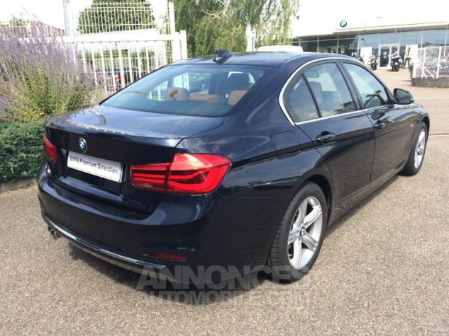 BMW Série 3 320dA xDrive 190ch Luxury IMPERIALBLAU METALLISEE Occasion - 1