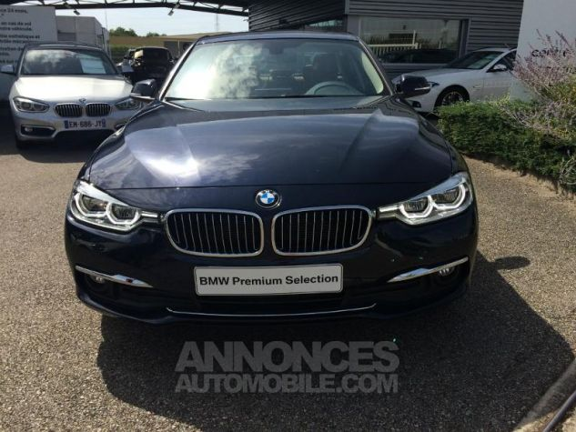BMW Série 3 320dA xDrive 190ch Luxury IMPERIALBLAU METALLISEE Occasion - 3