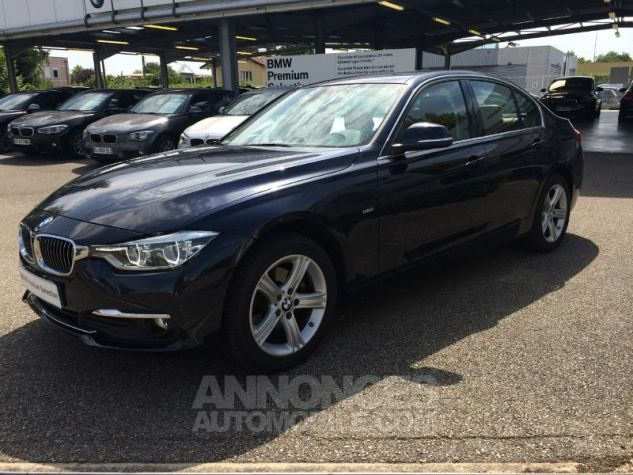 BMW Série 3 320dA xDrive 190ch Luxury IMPERIALBLAU METALLISEE Occasion - 4