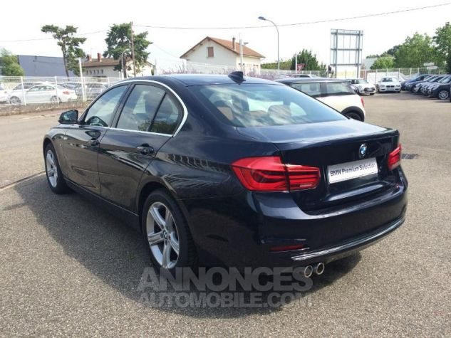 BMW Série 3 320dA xDrive 190ch Luxury IMPERIALBLAU METALLISEE Occasion - 5