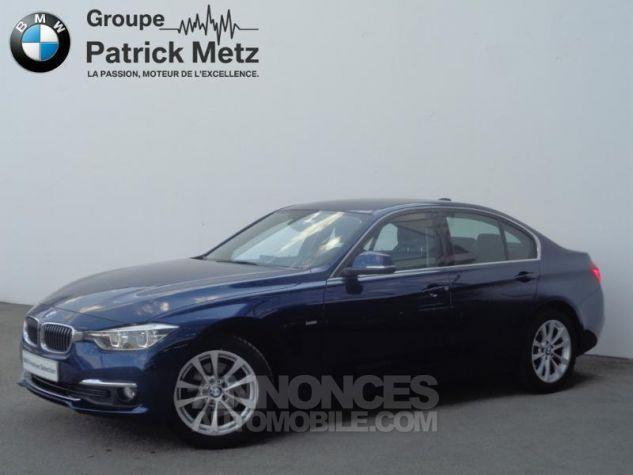 BMW Série 3 320dA xDrive 190ch Luxury Mediterranblau metallise Occasion - 0