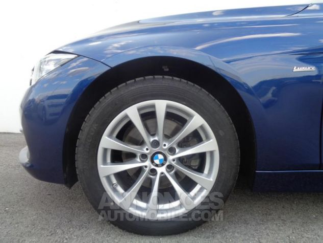BMW Série 3 320dA xDrive 190ch Luxury Mediterranblau metallise Occasion - 9