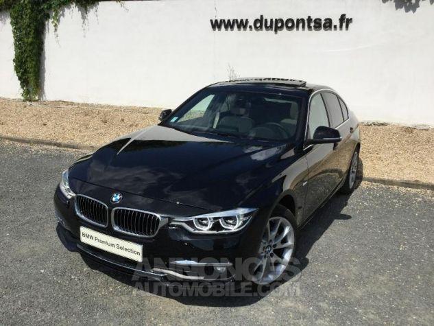 BMW Série 3 330dA xDrive 258ch Luxury Saphirschwarz metallise Occasion - 0