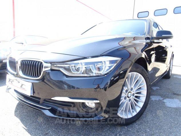 BMW Série 3 Break 320D 190PS BVA XDRIVE / Véhicule Français  noir metallisé Occasion - 1