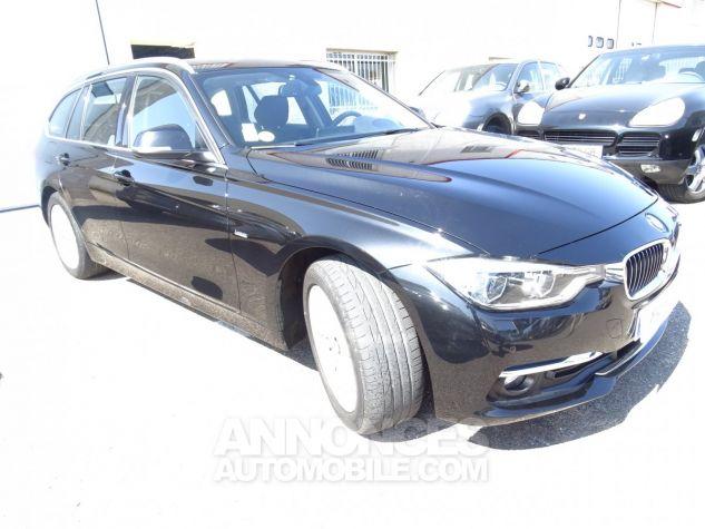 BMW Série 3 Break 320D 190PS BVA XDRIVE / Véhicule Français  noir metallisé Occasion - 4