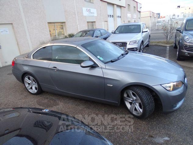 BMW Série 3 E93 335IA 306PS Cabriolet Sport /Full Options gris anthracite met Occasion - 3