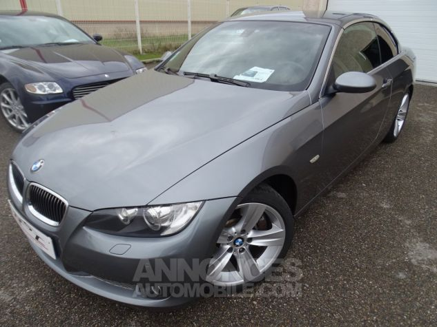 BMW Série 3 E93 335IA 306PS Cabriolet Sport /Full Options gris anthracite met Occasion - 1