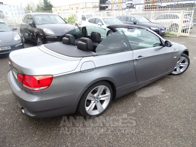 BMW Série 3 E93 335IA 306PS Cabriolet Sport /Full Options gris anthracite met Occasion - 19