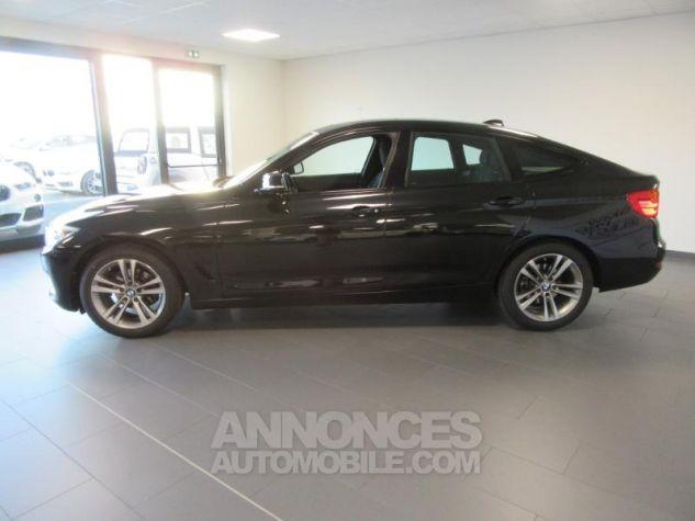 BMW Série 3 Gran Turismo 318dA 150ch Sport Saphirschwarz metallise Occasion - 8