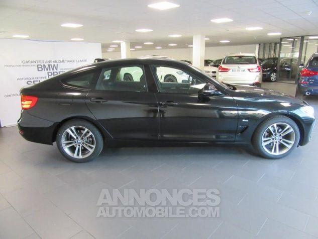 BMW Série 3 Gran Turismo 318dA 150ch Sport Saphirschwarz metallise Occasion - 10