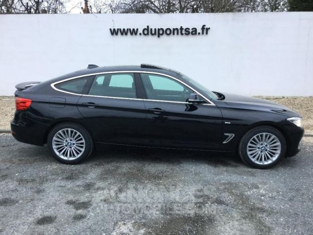 BMW Série 3 Gran Turismo 320dA 184ch Luxury NOIR Occasion - 9