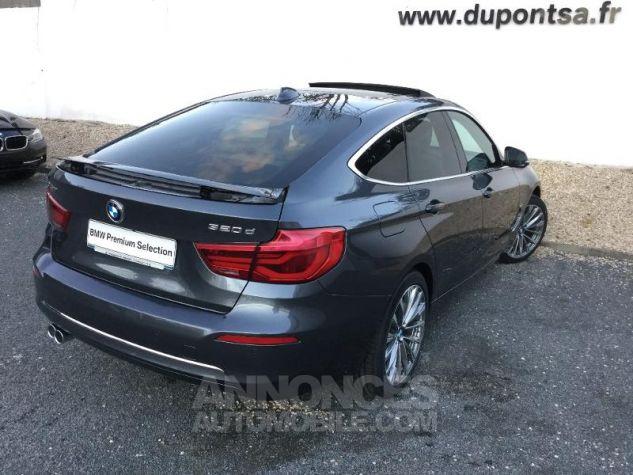 BMW Série 3 Gran Turismo 320dA 190ch Luxury Mineralgrau métallisée Occasion - 1