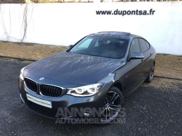 BMW Série 3 Gran Turismo 320dA 190ch M Sport Euro6c Mineralgrau métallisée Occasion - 0