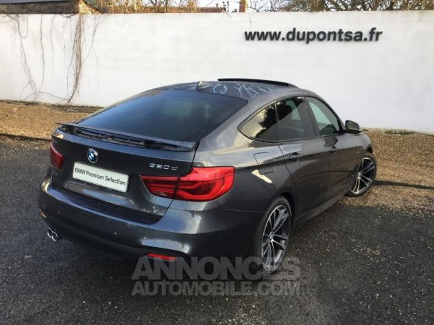 BMW Série 3 Gran Turismo 320dA 190ch M Sport Euro6c Mineralgrau métallisée Occasion - 1
