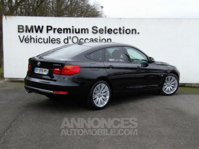 BMW Série 3 Gran Turismo 320dA xDrive 190ch Luxury SAPHIRSCHWARZ Occasion - 2