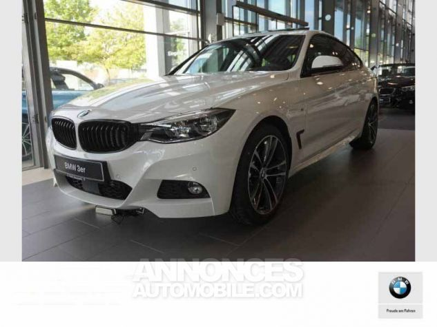 BMW Série 3 Gran Turismo F34 330DA XDRIVE 258CH M SPORT BLANC Occasion - 0