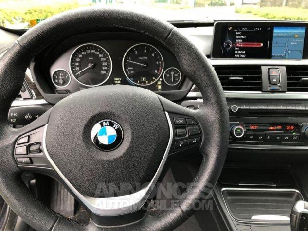 BMW Série 3 SERIE 3 GT F34 320D 184 LUXURY BVA8 Bleu foncé Occasion - 2