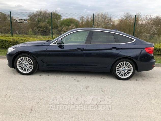 BMW Série 3 SERIE 3 GT F34 320D 184 LUXURY BVA8 Bleu foncé Occasion - 3
