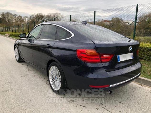 BMW Série 3 SERIE 3 GT F34 320D 184 LUXURY BVA8 Bleu foncé Occasion - 4